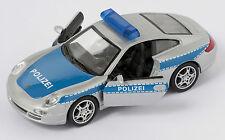 Porsche 911 (997) Carrerra S Coupe Polizei  Welly Modell Auto 1:34 NEU & OVP