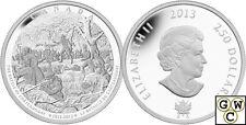 2013 Kilo Battle of Chateauguay War of 1812 $250 Silver Coin 9999 Fine (13235)