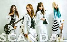 "013 Scandal - Japanese Music Rock Band 22""x14"" Poster"