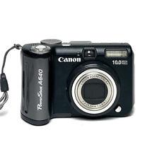Canon PowerShot A640 10.0MP Digital Camera 2.5