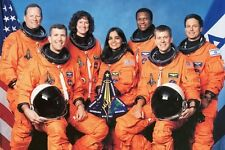 New 5x7 NASA Photo: Final Crew of Space Shuttle Columbia, Ill-Fated Last Mission