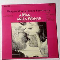 A Man And A Woman – Soundtrack: United Artists Records 1968 Vinyl LP