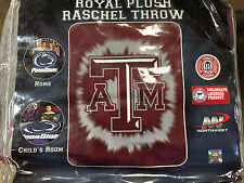 BRAND NEW OFFICIAL NCAA TEXAS A&M AGGIES TWIN SIZE ACRYLIC 60X80 BLANKET