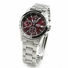 SEIKO Watch Chronograph RED SBTQ045?Quartz 100% Genuine product