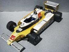 Modelik 13/12 -  Formel 1  Renault RE-20  (1980)       1:25