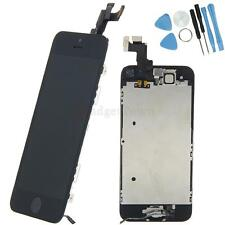 Complete LCD Digitizer Screen Home Button Camera for Apple iPhone 5S Black Tool