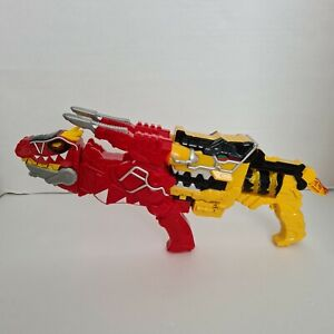 Power Rangers Dino Charge T-Rex Red and Yellow Morpher Guns working