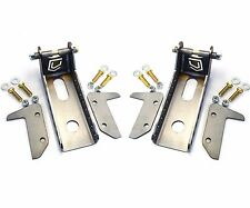 WELD ON FRAME SHOCK MOUNT TOWERS- PAIR- OFF ROAD 4X4 JEEP TOYOTA GMC CHEVY DODGE