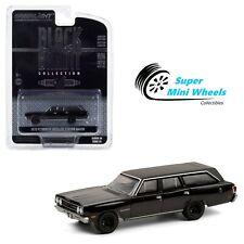 Greenlight 1:64 - Black Bandit Series - 1970 Plymouth Satellite Station Wagon