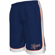 Detroit Tigers Majestic Fiery Fastball Men's Shorts, Navy Blue NEW