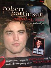Robert Pattinson annual 2010  free postage (books 4)