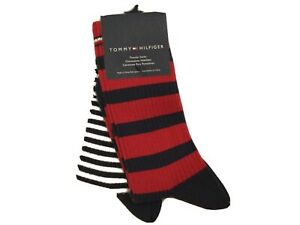 2 PAIRS : Womens Tommy Hilfiger Trouser Socks UK foot 6-8 / One Size BNWT