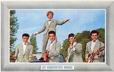 EDDY MITCHELL LES CHAUSSETTES NOIRES 60s CARTE VINTAGE #1