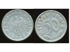 ALLEMAGNE  WW II     50 reichspfennig  1940 D  ( bis )