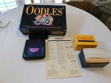 1992 OODLES Electronic Card Board Game Milton Bradley Hasbro 3+ Adult timer used