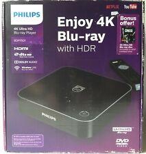 PHILIPS BDP7501 4K Ultra HD Blu-ray Player w/ Bonus 4K UHD Blu-ray Creed... NEW!