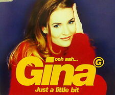 Eurovision UNITED KINGDOM 1996 GINA G Just A Little Bit CD single