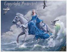 Nene Thomas Euphoria Horse Limited Edition Print LE Waves Ocean Fairy Faery