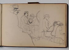 GASTON DUREL CARNET DE DESSINS FRANCE