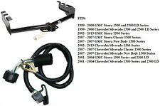 CLASS III TRAILER HITCH W/ OEM REPLACEMENT WIRING HARNESS - EASY INSTALLATION