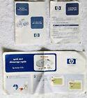 Vintage 2001 HP DESKJET 920c Printer Manual, Quick Start Guide & Customer Care