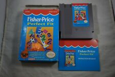 Fisher Price Perfect Fit (Nintendo NES) Complete in Box FAIR