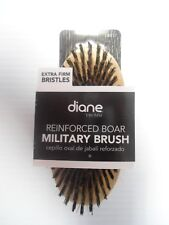 Diane by Fromm Reinforced Boar Military Brush Extra Firm Bristles #D8157
