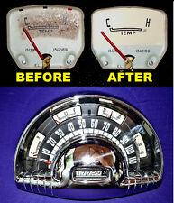 1948 1949 1950 1951 1952 1953 Oldsmobile vinyl gauge face kit FREE SHIPPING!