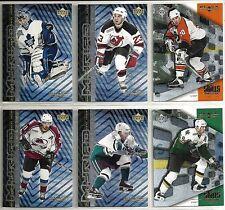 2000-01 Black Diamond 31-card Assorted Hockey Insert Lot  Forsberg  Bure  +++