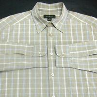 Ermenegildo Zegna (L) Multi-Color Plaids Checks Cotton Long Sleeve Shirt ITALY