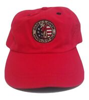 US Open 2005 Pinehurst No. 2 Golf PGA Hat Cap Imperial Strapback Red