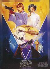 2017 Star Wars 40th Anniversary Card #118 Star Wars Poster Concept