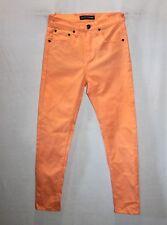 Ziggy Denim Brand 'Sticks & Bones' Orange Skinny Leg Jeans Size 8 BNWT #SA42