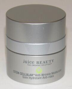 Juice Beauty Stem Cellular Anti-Wrinkle Moisturizer 0.5 Oz 15 mL NWOB Travel Sz