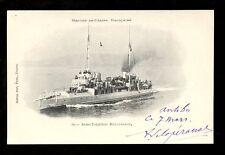 Navy France Shipping Aviso-Torpilleur Torpedo Boat HALLEBARDE u/b PPC