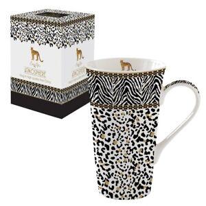 Jumbobecher Tasse 600 ml Leopard Afrika Easy Life