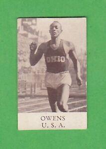 1936 Swedish alfa Berlin Olympics #1 Jesse Owens 100 m
