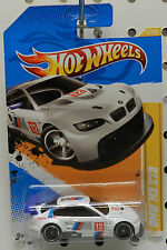 2012 2011 BMW M3 GT2 DRIFT RACE CAR 5 WHITE 12 HW HOT WHEELS