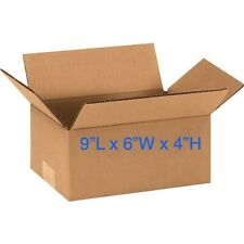 Lot of 25 - 9x6x4 Cardboard Mailing Packing Shipping Moving Boxes Package