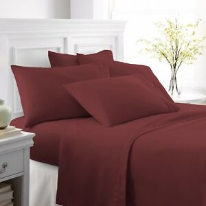 Ultra Soft 6 Piece Bed Sheet Set by The Home Collection