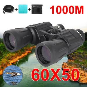 60x50 HD Zoom Fernglas Fernrohr Feldstecher Nachtsicht Wilde Jagd Binoculars