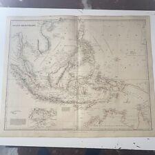 1834 Asiatic Archipelago J Arrowsmith Map From The London Atlas Antique