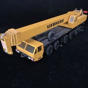Gescha Model No.2072 Liebherr LT1120 Hydraulic Truck Crane 6 Axles 1/50 Toy