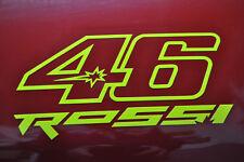 STICKERS FLUO N 46  VALENTINO ROSSI Moto GP ,vr46  moto FLUO 8x16cm