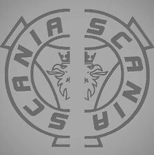 SCANIA Fenêtre Stickers Autocollants Logo X2 Topline Série R VABIS Super V8 Shield