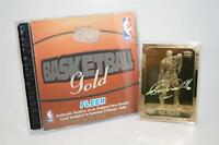 KARL MALONE 1986-87 Fleer ROOKIE 23KT Gold Card HOLOGRAPHIC SIGNATURE INSERT