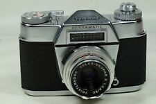 Voigtlander Bessamatic with 50mm f2.8 Color-Skopar!!!