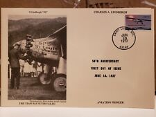"""LOT OF 40! CHARLES LINDBERGH """"50"""" - SOME FDC first day cover marks"""