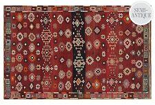 "$2600.00  Persian Sumakh Kelim Kilim Sanandaj Sane  Wool Rug  5' 5"" x 8' 8"""