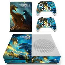 Xbox One S Slim Console Controllers Skins Godzilla King of Monsters Vinyl Decals